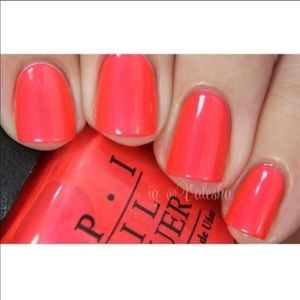 OPI Gelcolor down to the core-al neon gel polish